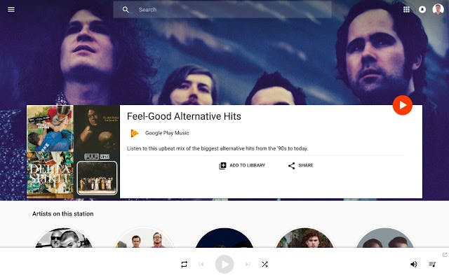 Google Play Music interface.jpg
