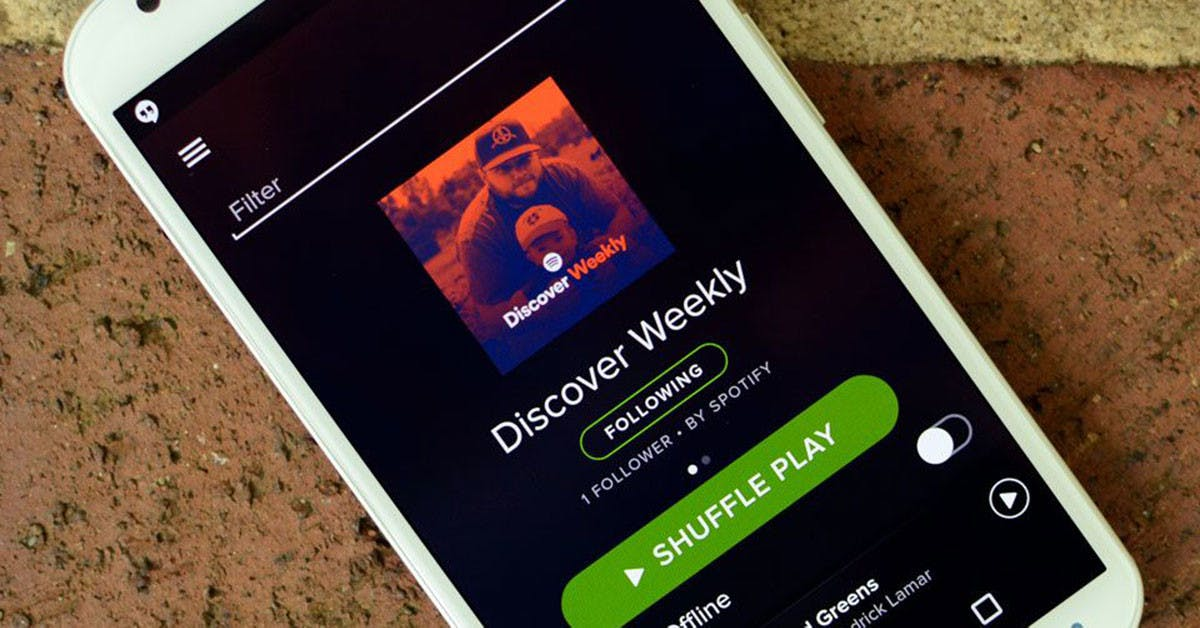 "You've got a match! How ""Discover Weekly"" works?"