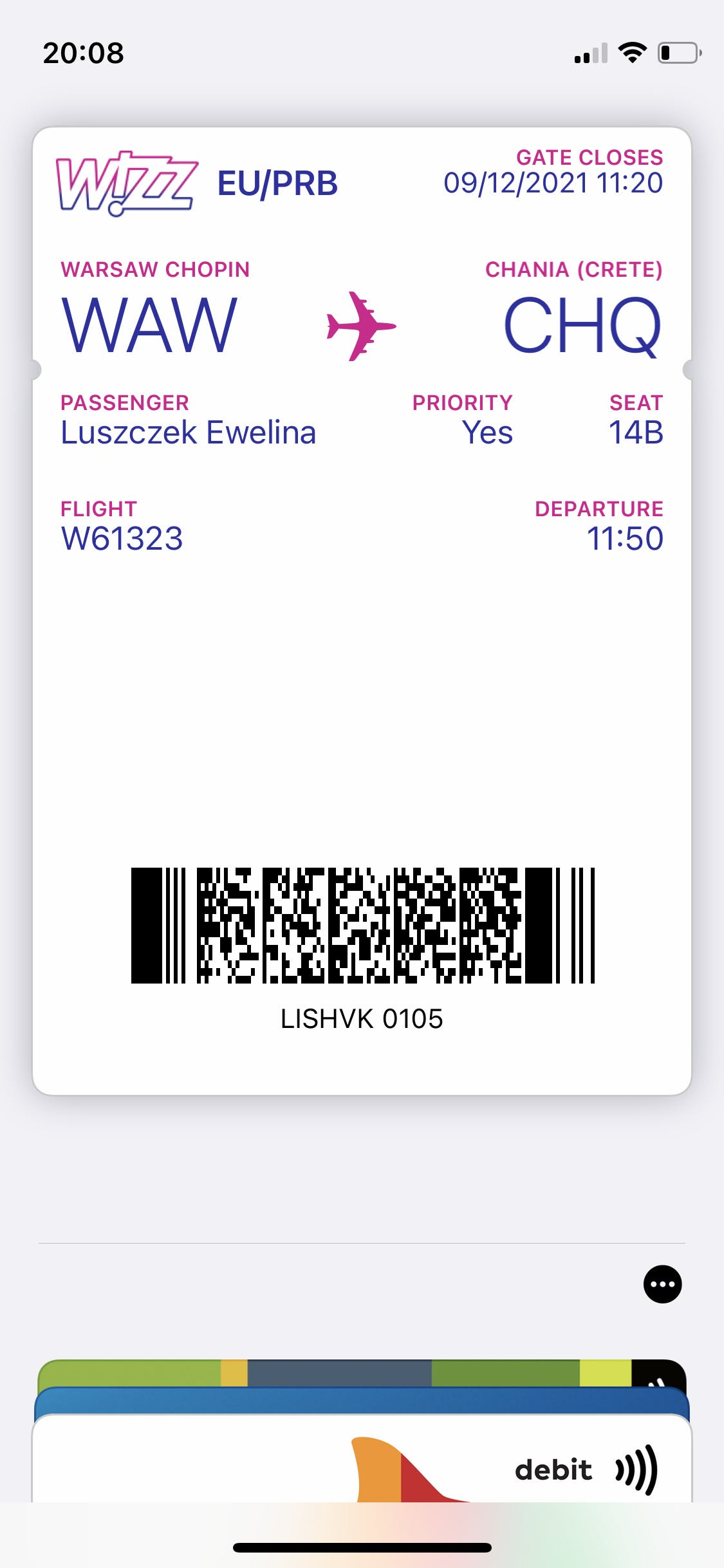 How to add a boarding pass to Apple and Gpay Wallet
