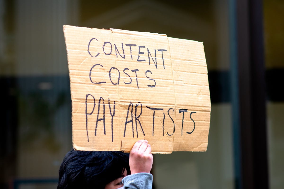 content costs pay artists