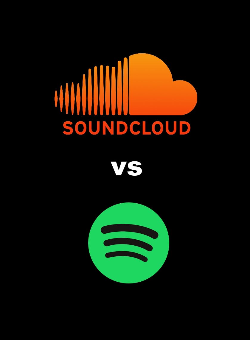 Soundcloud vs Spotify - comparison